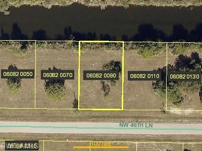 Cape Coral Residential Lots & Land For Sale: 3713 NW 46th Ln