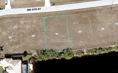 Cape Coral Residential Lots & Land For Sale: 620 NW 25th Ter
