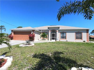 Cape Coral Single Family Home For Sale: 2119 NW 24th Ter