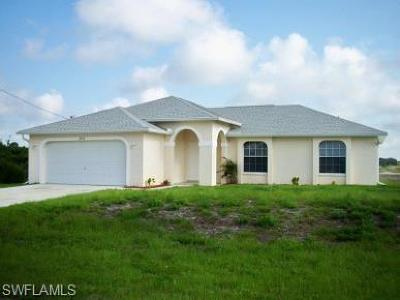 Lehigh Acres Single Family Home For Sale: 2816 24th St SW