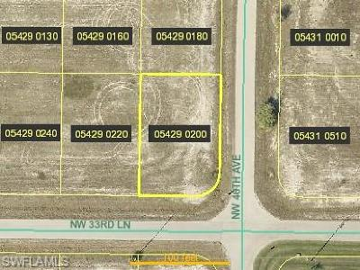 Cape Coral Residential Lots & Land For Sale: 4601 NW 33rd Ln