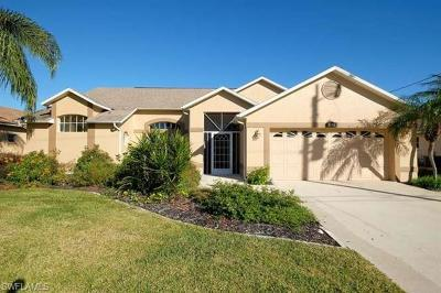 Cape Coral FL Single Family Home For Sale: $534,900