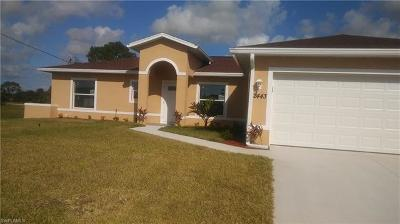 Cape Coral FL Single Family Home For Sale: $214,999