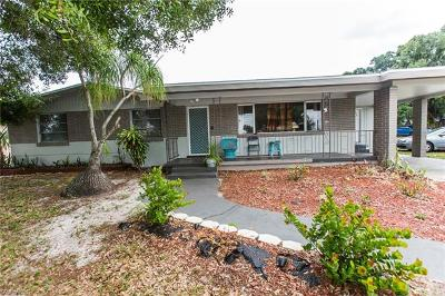 Fort Myers Single Family Home For Sale: 3034 Saint Charles St