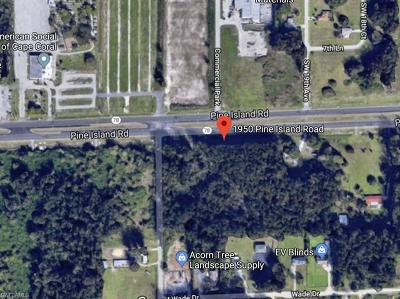 Cape Coral Commercial Lots & Land For Sale: Corner Lot