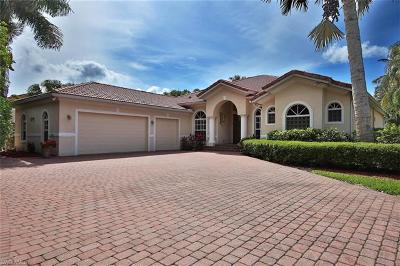 Fort Myers Single Family Home For Sale: 11101 Harbour Estates Cir