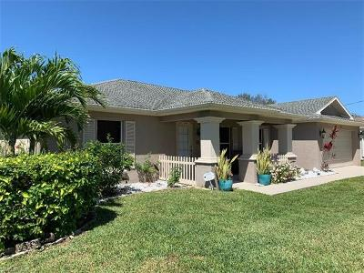 Bonita Springs, Cape Coral, Fort Myers, Fort Myers Beach Single Family Home For Sale: 1222 NW 20th Pl