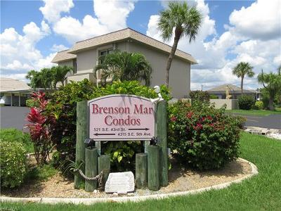 Cape Coral Condo/Townhouse For Sale: 4315 SE 5th Ave #4-D