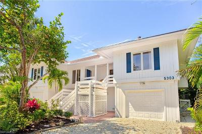 Captiva, Sanibel Single Family Home For Sale: 5303 Umbrella Pool Rd