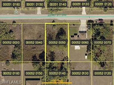 Lehigh Acres FL Residential Lots & Land For Sale: $14,000