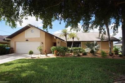 Cape Coral Single Family Home Pending With Contingencies: 5212 Pelican Blvd