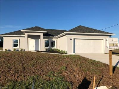 Lehigh Acres Single Family Home For Sale: 3207 12th St SW