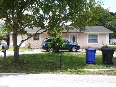 Fort Myers Single Family Home For Sale: 4235 Edgewood Ave