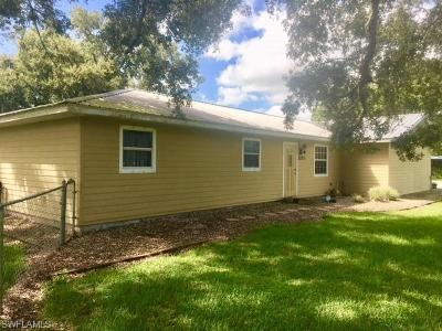 Single Family Home For Sale: 2093 E Fort Denaud Road