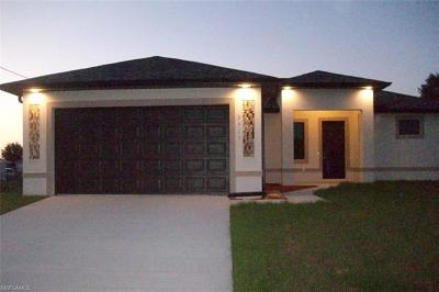 Lehigh Acres Single Family Home For Sale: 4116 13th St SW