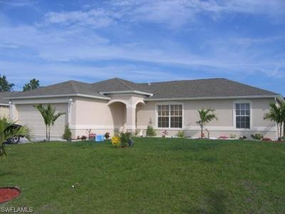 Lehigh Acres Single Family Home Pending With Contingencies: 3608 2nd St W