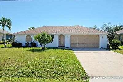 Cape Coral, Fort Myers, North Fort Myers Single Family Home For Sale: 304 Kamal Pky
