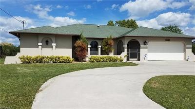 Cape Coral, Matlacha, North Fort Myers Single Family Home For Sale: 1421 Everest Pky