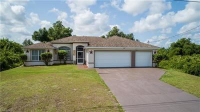 Lehigh Acres Single Family Home For Sale: 3507 21st St SW