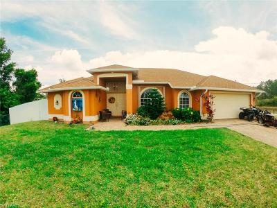 Lehigh Acres Single Family Home For Sale: 1600 State Ave