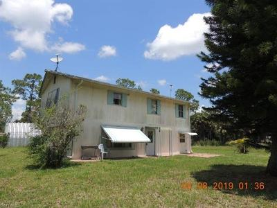 Hendry County Single Family Home For Sale: 13823 Hamlin Ave