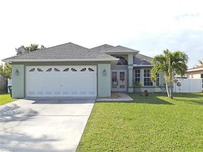 Cape Coral Single Family Home For Sale: 4538 SW 6th Ave