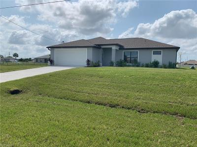 Cape Coral Single Family Home For Sale: 1322 NW 10th Ter