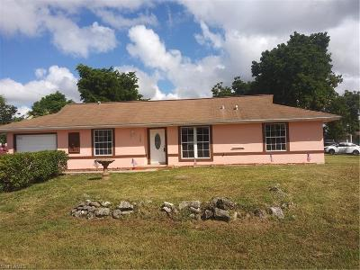 Collier County Single Family Home For Sale: 5500 22nd Pl SW