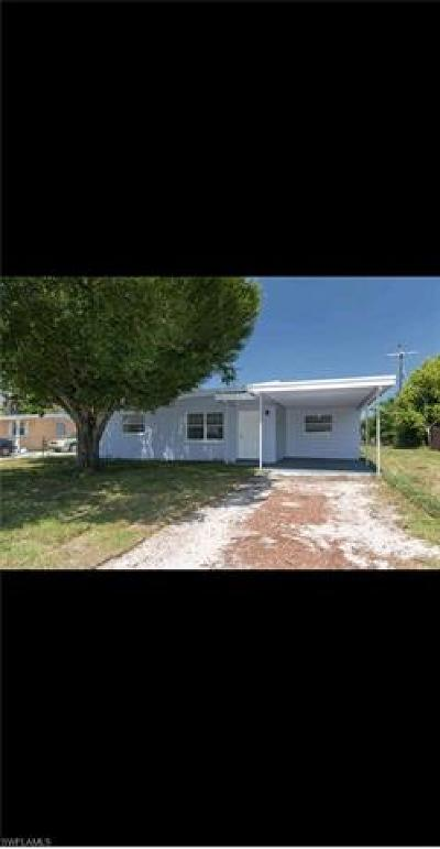 Fort Myers Single Family Home For Sale: 1413 Brookhill Dr