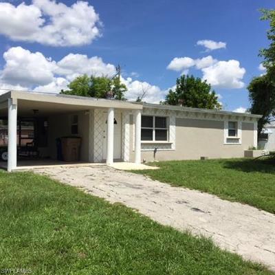 Lehigh Acres Single Family Home For Sale: 106 Apache St