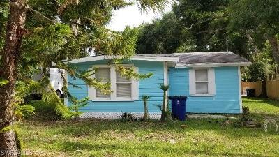 North Fort Myers Single Family Home For Sale: 537 State St