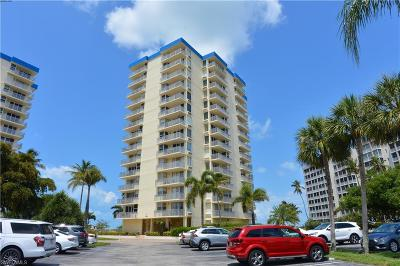 Fort Myers Beach Condo/Townhouse For Sale: 7300 Estero Blvd #1001