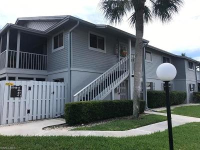 North Fort Myers Condo/Townhouse For Sale: 5745 Foxlake Dr #E