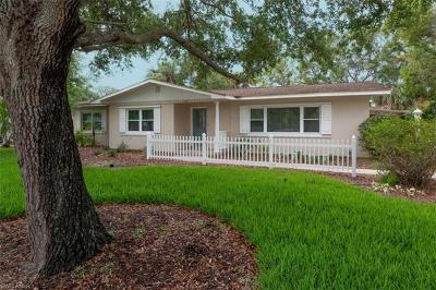 Fort Myers Single Family Home For Sale: 1362 Braman Ave