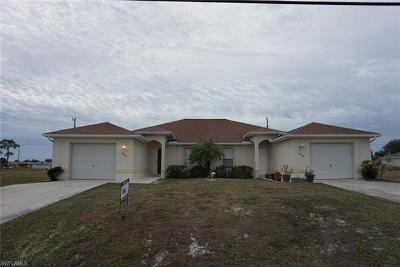 Cape Coral Multi Family Home For Sale: 1816-1818 Andalusia Blvd