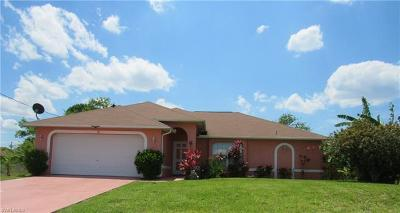 Cape Coral Single Family Home For Sale: 2140 NW 17th Pl