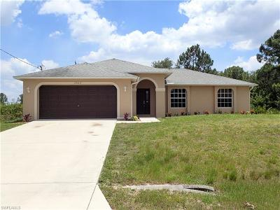 Lehigh Acres Single Family Home For Sale: 3503 6th St SW