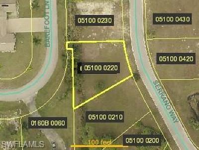 Bonita Springs Residential Lots & Land For Sale: 27129 Serrano Way