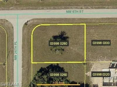 Cape Coral Residential Lots & Land For Sale: 527 NW 26th Pl