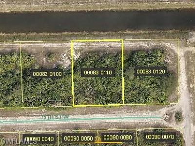 Lehigh Acres Residential Lots & Land For Sale: 3104 75th St W