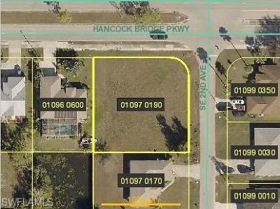 Cape Coral Residential Lots & Land For Sale: 158 Hancock Bridge Pky