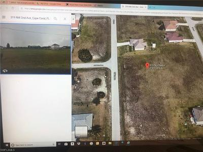Cape Coral Residential Lots & Land For Sale: 319 NW 2nd Ave
