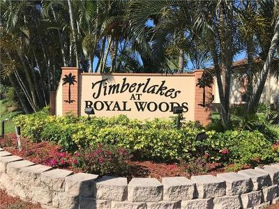 Fort Myers Condo/Townhouse For Sale: 17424 Birchwood Ln #5