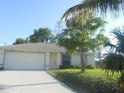 Cape Coral Single Family Home Pending With Contingencies: 1815 SW 30th Ter