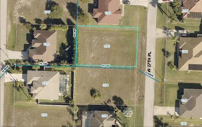 Cape Coral Residential Lots & Land For Sale: 1202 NW 27th Pl