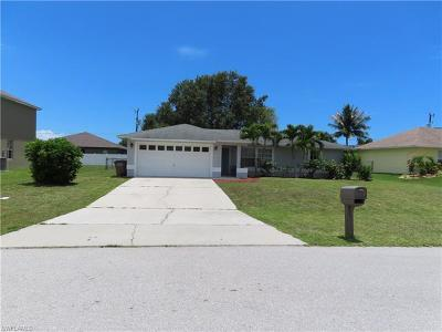 Cape Coral Single Family Home For Sale: 840 SW 28th Ter