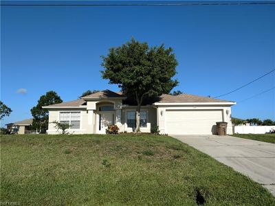 Cape Coral Single Family Home For Sale: 1124 NW 11th Pl