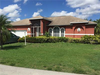 Cape Coral, Fort Myers, Estero, Babcock Ranch, Miromar Lakes, North Fort Myers Single Family Home Pending With Contingencies: 14390 Pine Lily Dr