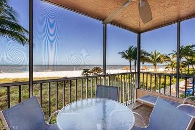 Fort Myers Beach Condo/Townhouse For Sale: 250 Estero Blvd #105