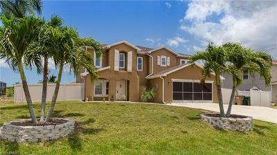 Cape Coral Single Family Home For Sale: 718 NW 18th Pl